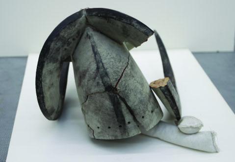 Bambara Ceremonial Dance Mask Before