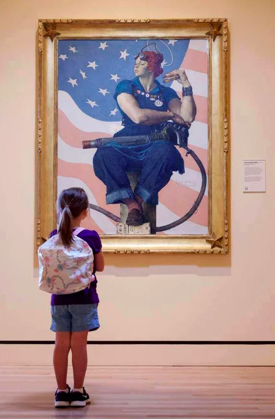Crystal Bridges Museum- The Framing of Rosie the Riveter