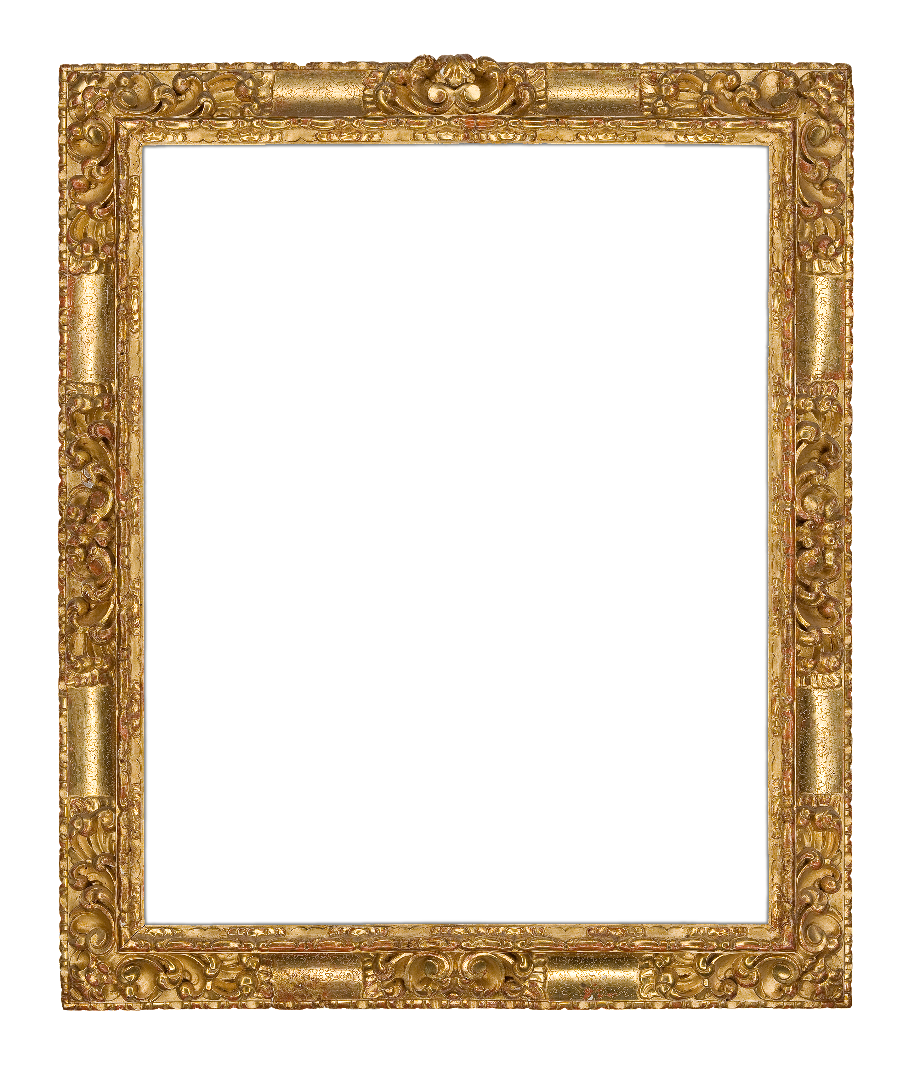 Spanish 17th Century Punched  Receding Frame