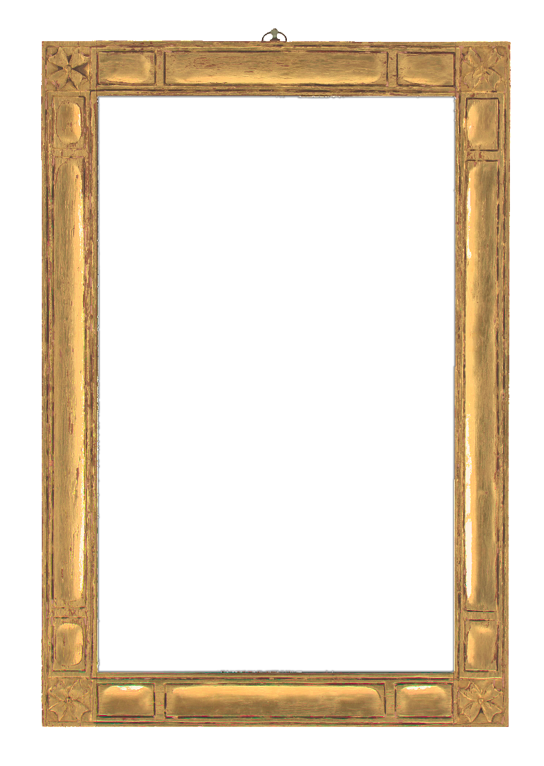 American 20th Century Foster Brothers Mirror Frame