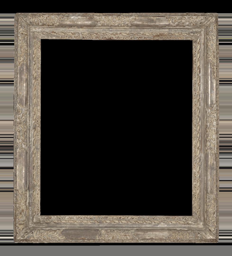 Italian 18th Century Silver Leaf Venetian Frame