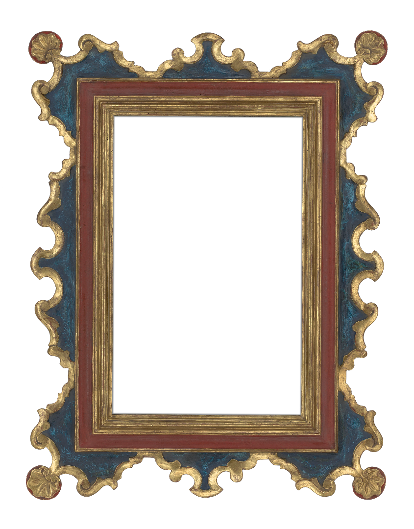 American 21th Century Painted Reproduction Frame