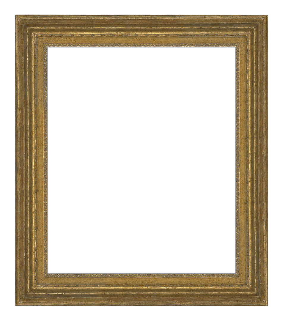 French 18th Century Louis 16th Continuous  Cove  Molding Frame