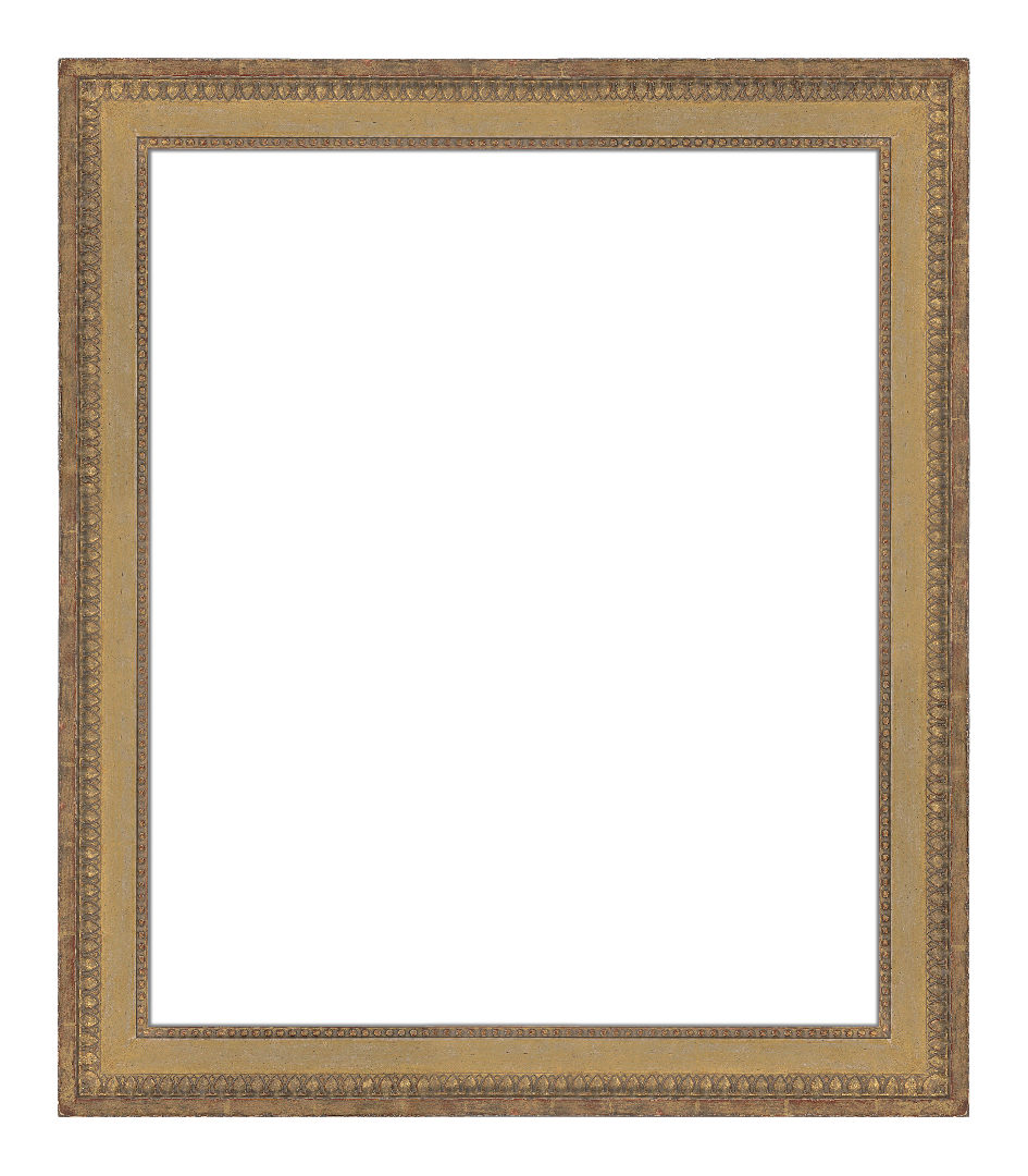 French 18th Century Louis 16th Continuous  Panel Frame