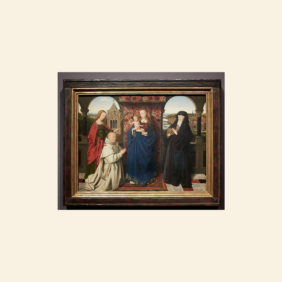 The Charterhouse of Bruges- Jan van Eyck, Petrus Christus, and Jan Vos